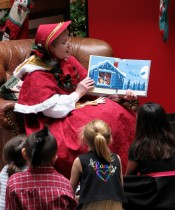 1 - Christmas Cataraqui Centre, Storytime with Mrs. Claus, Nov 2012