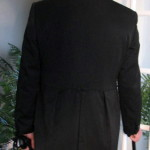 Costume Club Jacks tailcoat CU from back 08